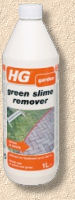 green slime remover