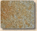 rust stained paver