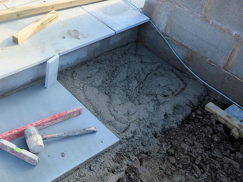 Bedding Materials For Flags And Slabs, How Much Bedding Mortar Do I Need