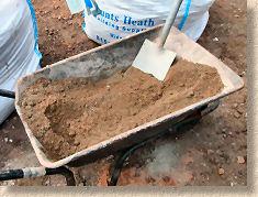 'mixing mortar' from the web at 'http://www.pavingexpert.com/images/mortar/mortar_mix_04.jpg'