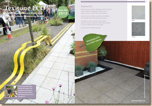 texitone eco paving