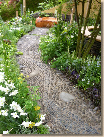 reiki cobble path