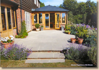 minster paving patio
