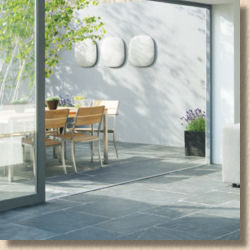 indoor and outdoor paving