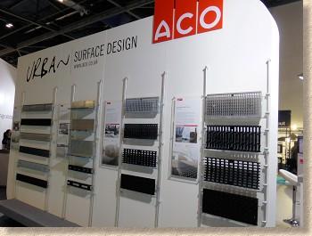 Aco linear channel gratings