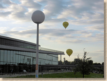 ballons over conference centre