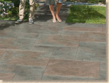symphony copper porcelain paving