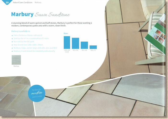 marbury sawn paving