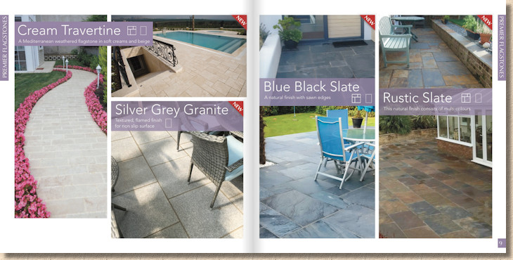 stone paving supplies page layout