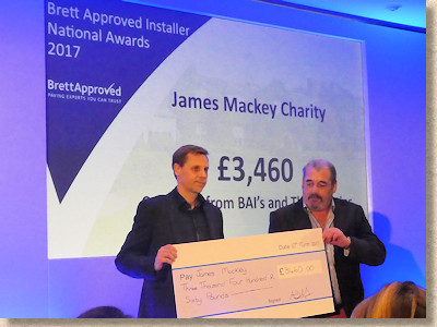 charity collection for James Mackie