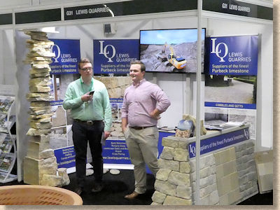 Lewis Quarries at Landscape Show