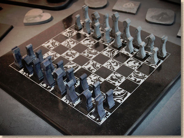 caithness flagstone chess set