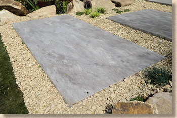 resin coated plinth