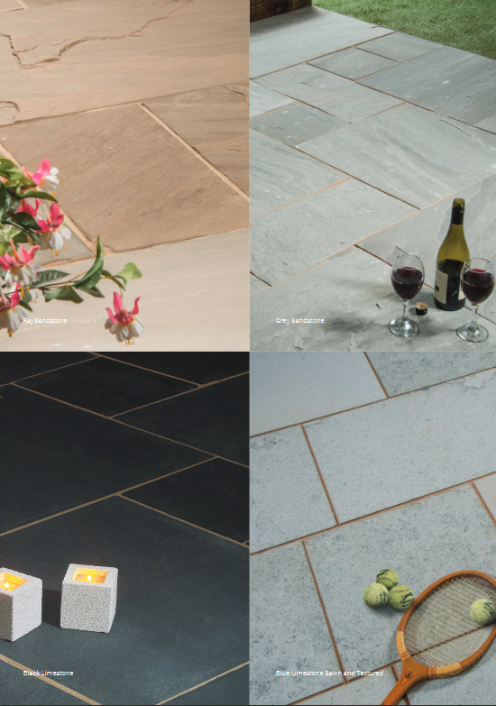 sawn square edge paving