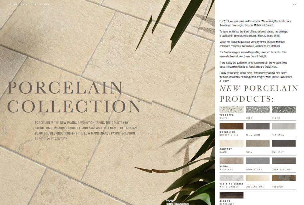 new porcelains from Global Stone