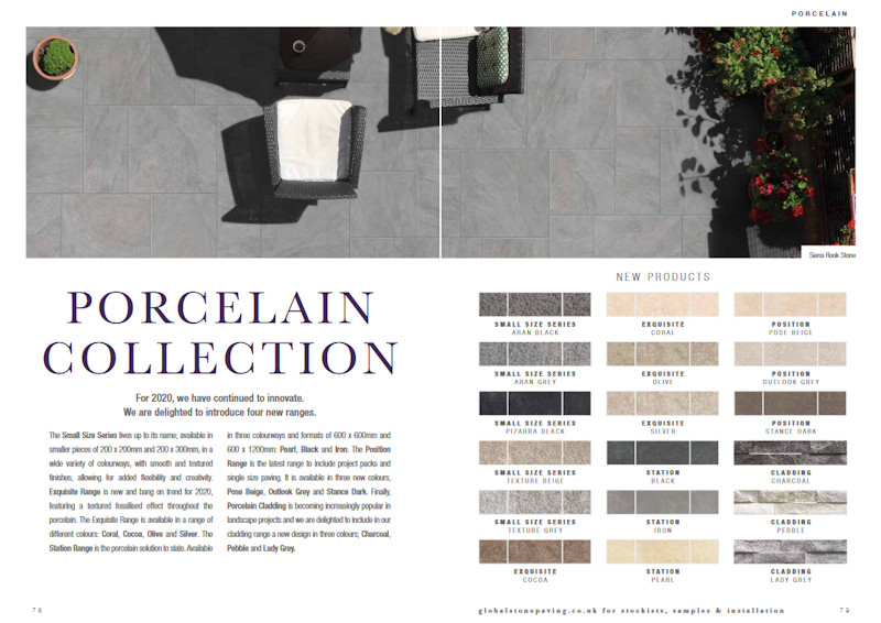 global stone new porcelain