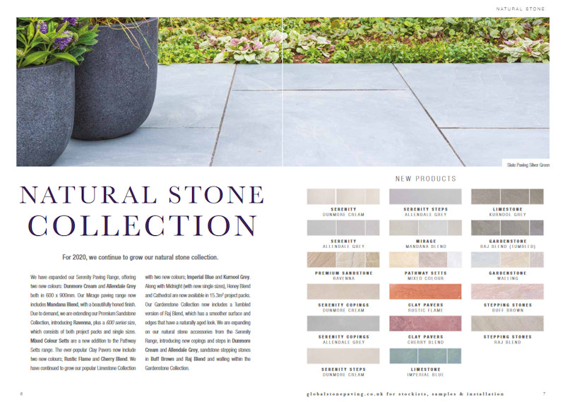 new stone products from Global