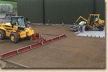 machine laying