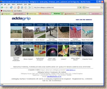addagrip home page
