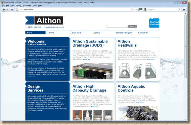 althon web site