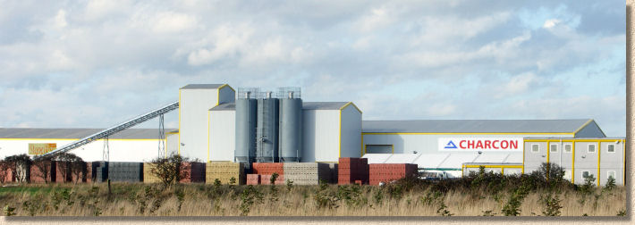 charcon and stoneflair plant at ashington