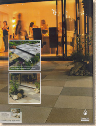 contemporary paving from Bradstone