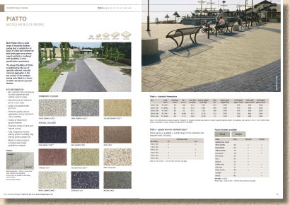 piatto paving