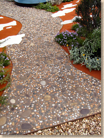 Any Opinions Or Photos Of River Rock, Exposed Aggregate Patios?