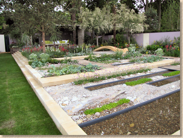 Cancer Research garden