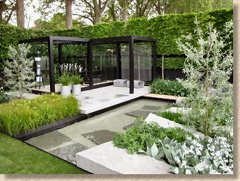 Contemporary Garden On Pavingexpert News And Updates