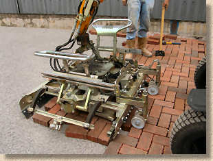 lifting into position