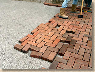 layer in place