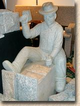 S & N Granite Stonemason figure