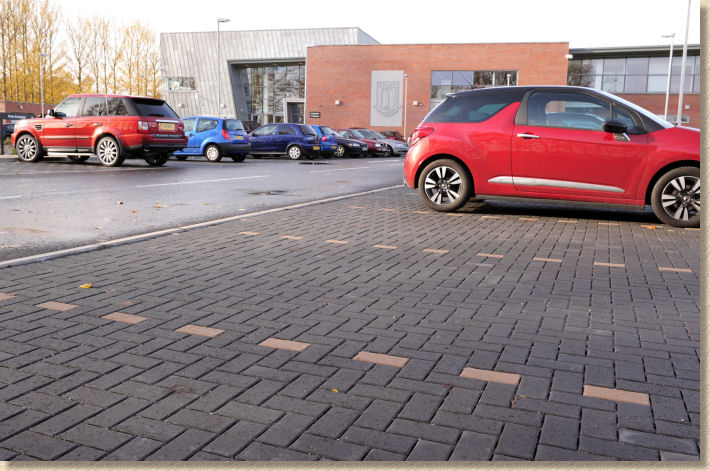 aquaflow paving at stoke city fc
