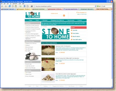 stone to home website