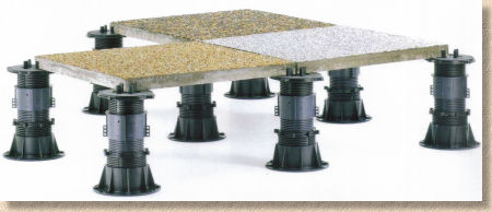 buzon screwjack pedestals
