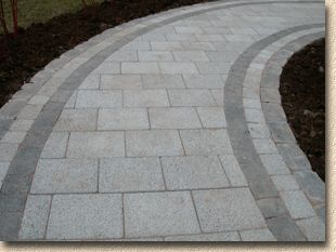 close up on the paving