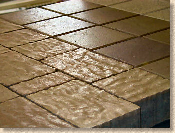 curled paving products