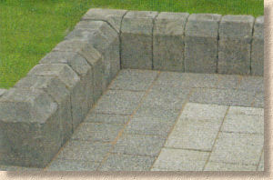 Tegula Kerb fittings
