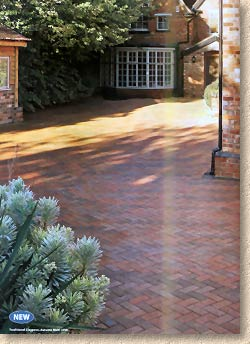 new clay paving