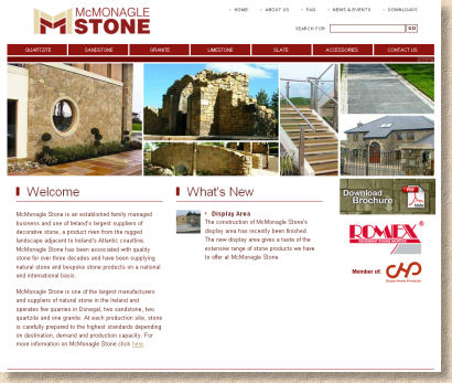 mcmonagle stone website