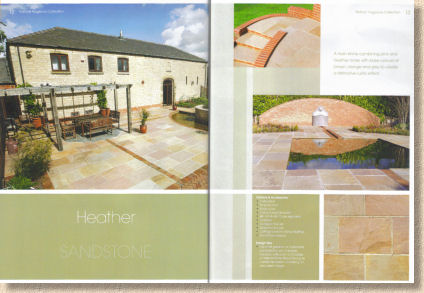natural paving double page