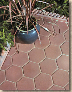 Lovely Hexagon Pavers