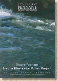 Forest pennant Hydroelectric scheme