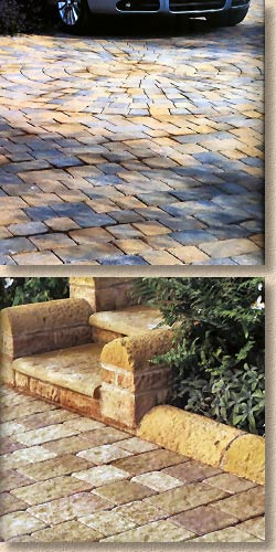 trident and drivestone pavers