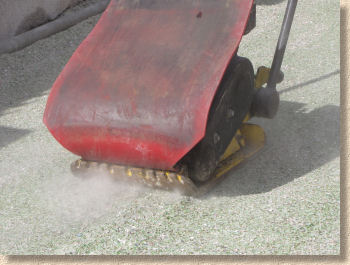 dust when compacting