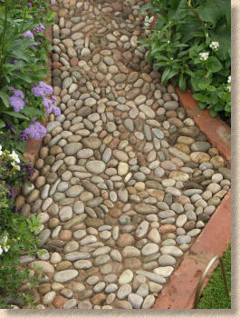 cobble path