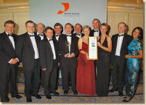 British Quality Foundation award