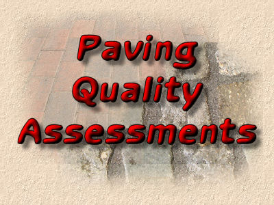 paving quality assessments
