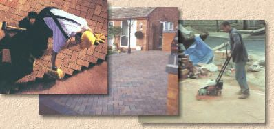 Laying Block Paving